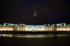 Fed parliament house Canberra