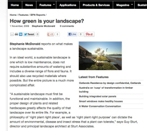 How Green is Your Landscape